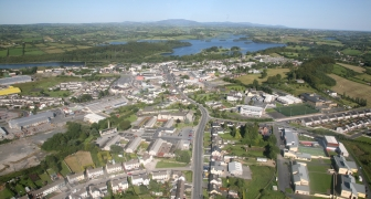 Arial View of Castleblayney